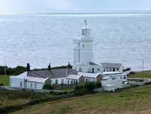 Free St. Catherine`s Lighthouse Stock Photography - 137692592