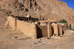 St. Catherine's Monastery Royalty Free Stock Photo