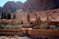 St. Catherine's monastery royalty free stock photos