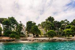 St Catherine (SV Isla de Katarina), Croacia foto de archivo