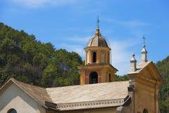 St. Catherine von Alexandria - Bonassola Italien Stockbild