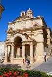 St Catherines church, Valletta. Stock Image