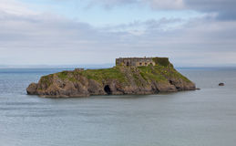 St Catherines Island Tenby Wales Stock Images