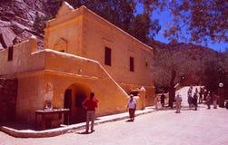 St Catherines Monastry, bâti Moïse, Sinai photographie stock libre de droits