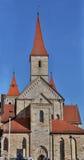 St catholique Vitus de basilique dans Ellwangen, Allemagne photos stock