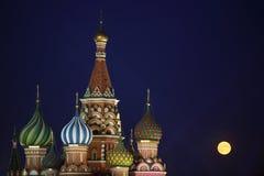 St Cattedrale del basilico, Mosca Fotografia Stock