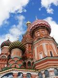 St Cattedrale del basilico a Mosca Fotografia Stock