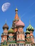 St Cattedrale del basilico, Mosca Immagine Stock Libera da Diritti