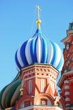 St Cattedrale del basilico, quadrato rosso, Mosca, Russia Fotografie Stock