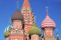 St Cattedrale del basilico, quadrato rosso, Mosca, Russia Immagini Stock