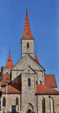 St cattolica Vitus della basilica in Ellwangen, Germania Fotografie Stock