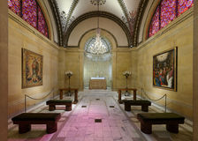 St Cecilia Cathedral Chapel Image stock