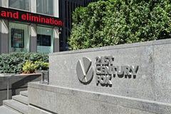 21st Century Fox högkvarter Arkivfoto