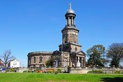 St Chads Church, Shrewsbury. Royalty Free Stock Images
