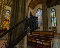 St Chads Katedralna Salowa ambona C Obrazy Royalty Free
