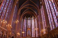 St Chappelle, París, Francia Fotografía de archivo libre de regalías