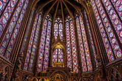 St Chappelle, Paris Stock Photo