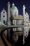st charles собора Стоковое Изображение