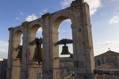 St Charles Borromeo, Noto (Sicilia) Fotografia Stock