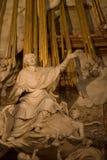 St. Charles Church-The altaar Royalty-vrije Stock Foto's