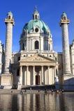 St Charles Church em Viena Foto de Stock