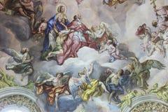 St. Charles Church (Viena) Imagenes de archivo