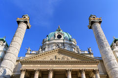St. Charles Church, Vienna Stock Photos