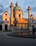 St. Charles church in Vienna, Austria Stock Photo