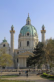 St. Charles Church in Vienna Royalty Free Stock Image