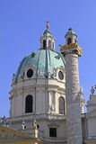 St. Charles Church in Vienna Stock Photography