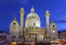 St. Charles Church, Vienna Royalty Free Stock Image
