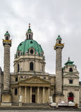 St. Charles Church, Vienna Royalty Free Stock Photo
