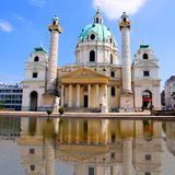St. Charles' Church, Vienna Royalty Free Stock Image