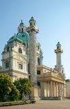 St. Charles Kerk, Wenen, Oostenrijk Stock Foto