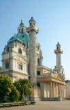 St. Charles kościół, Wiedeń, Austria Zdjęcie Stock