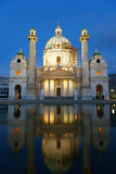 St. Charles's Church (Karlskirche) Stock Photos