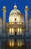 St. Charles's Church (Karlskirche) Royalty Free Stock Photography
