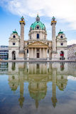 St. Charles's Church in Vienna Royalty Free Stock Photos