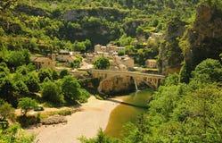 St Chely du de Tarn, Frankrijk Royalty-vrije Stock Afbeeldingen
