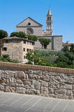 St. Chiara Basilica. Assisi. Umbria. Royalty Free Stock Images