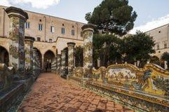 St Chiara Cloister Stock Image