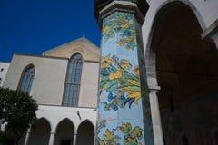 St Chiara de cloître image stock