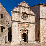 St Chiesa del salvatore a Dubrovnik, Croatia Fotografie Stock Libere da Diritti