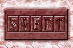 söt choklad Arkivfoton