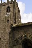 St Christopher`s Church is in the small village of Pott Shrigley, Cheshire, England. Stock Photo
