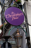 St. Christopher's Place in London Royalty Free Stock Images