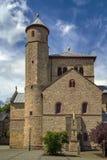 St. Chrysanthus and Daria Church, Bad Munstereifel, Germany Stock Image