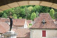 St.Cirq de Lapopie, France Royalty Free Stock Images