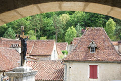 St.Cirq DE Lapopie, Frankrijk Royalty-vrije Stock Afbeeldingen