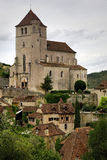 St.Cirq DE Lapopie, Frankrijk Royalty-vrije Stock Fotografie